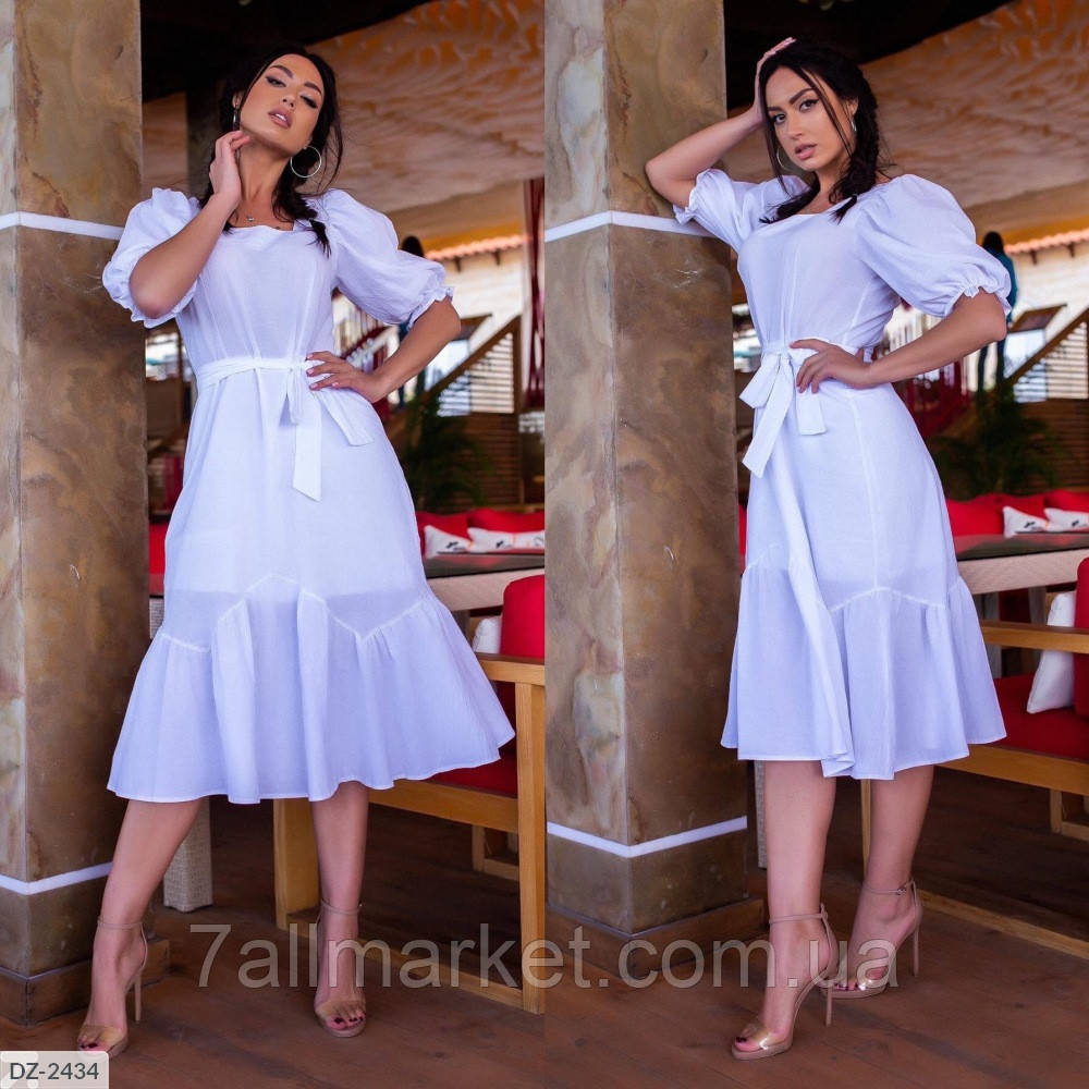 """Платье женское полубатальное мод. 737 (48, 50, 52, 54) """"SLAVIA"""" недорого от прямого поставщика"""