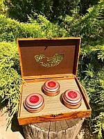 Чайный подарочный набор три чая 300 грамм.