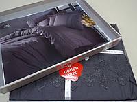 Білизна Постільна Ранфорс, Туреччина, Сotton box, Сірий, фото 1