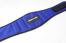 Пояс для тяжелой атлетики неопреновый SportVida SV-AG0094 (M) Blue, фото 2