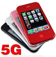 Китайский iPhone i5G, 2 sim, Tv, Fm, Jawa. Заводская сборка.