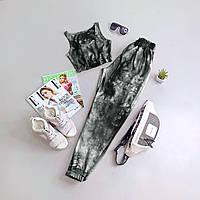Женский летний костюм топ+штаны