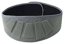 Пояс для тяжелой атлетики неопреновый SportVida SV-AG0083 (XL) Gray, фото 2