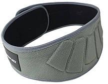 Пояс для тяжелой атлетики неопреновый SportVida SV-AG0083 (XL) Gray, фото 3