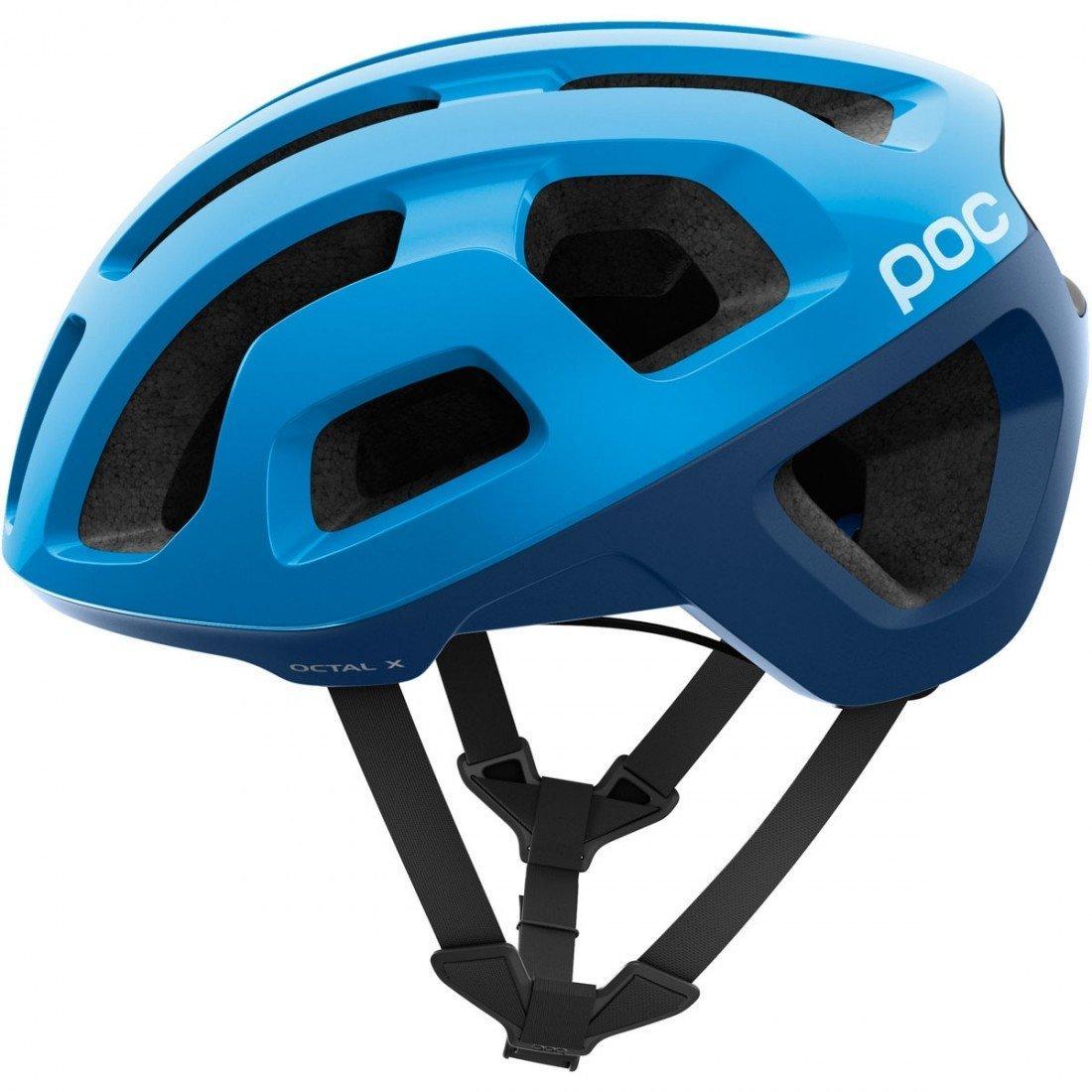 Шолом велосипедний POC Octal X Spin S 50-56 Furfural Blue