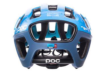 Шолом велосипедний POC Octal X Spin S 50-56 Furfural Blue, фото 3