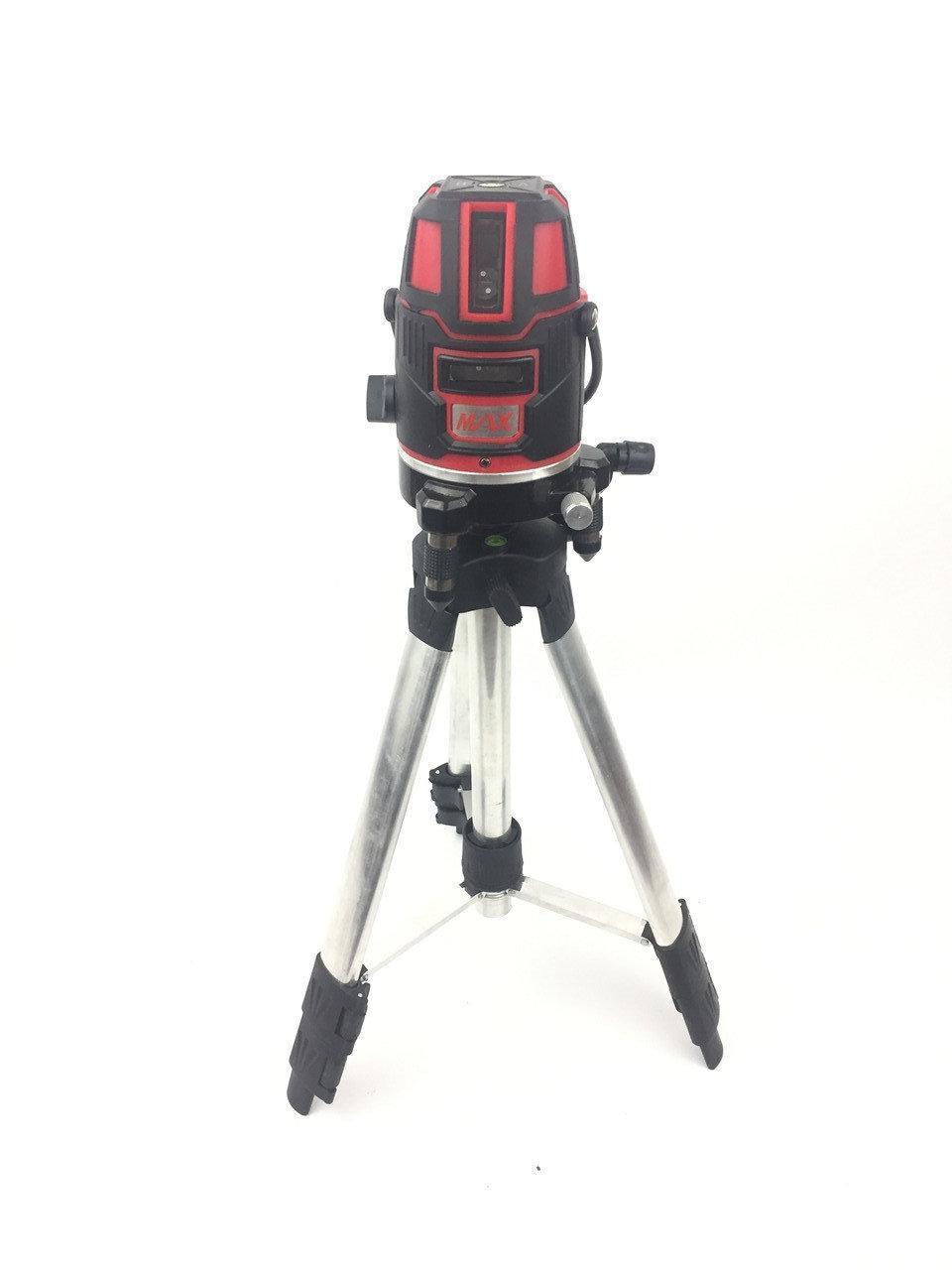 Лазерный уровень, нивелир Max MXNL 03 (5 линий / 6 точек)