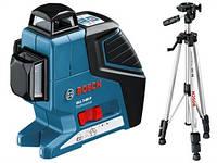 Лазерный нивелир BOSCH GLL 3-80 P / 2 класс / 3 линии /