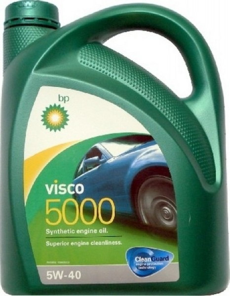 Синтетическое моторное масло Bp Visco 5000 5w-40