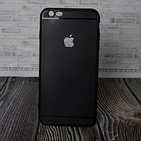 Силиконовый бампер для IPhone 6 Plus черный