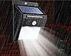 LED Вуличний ліхтар з сонячною батареєю і датчиком руху 20 Solar LED Motion
