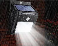 LED Вуличний ліхтар з сонячною батареєю і датчиком руху 20 Solar LED Motion, фото 1