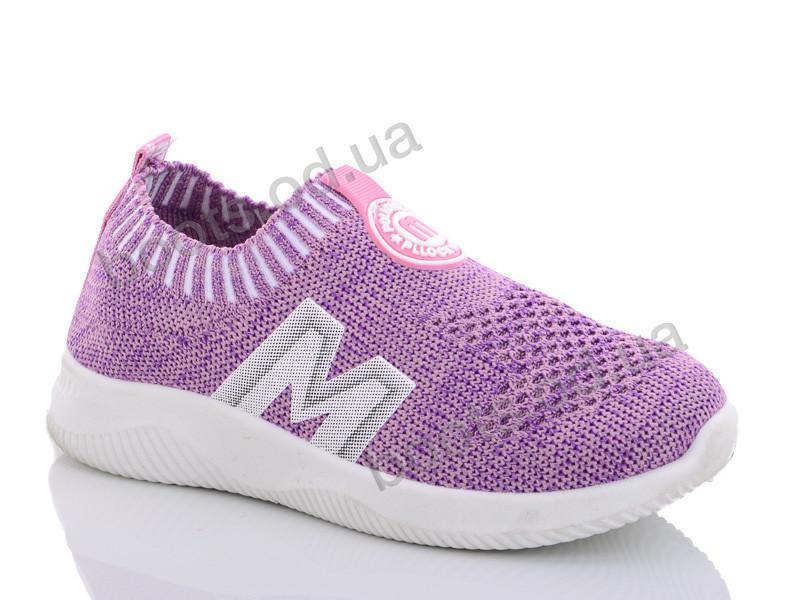 """Кроссовки  детские """"Y.Top"""" #HT2163-3. р-р 31-36. Цвет фиолетовый. Оптом"""