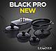 Кастрюля с антипригарным покрытием с крышкой Black Pro New 55872-28 6,5л Lessner, фото 3