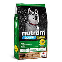 Nutram S9 Sound Balanced Wellness Natural Lamb Adult Dog - сухой корм для взрослых собак с ягненком