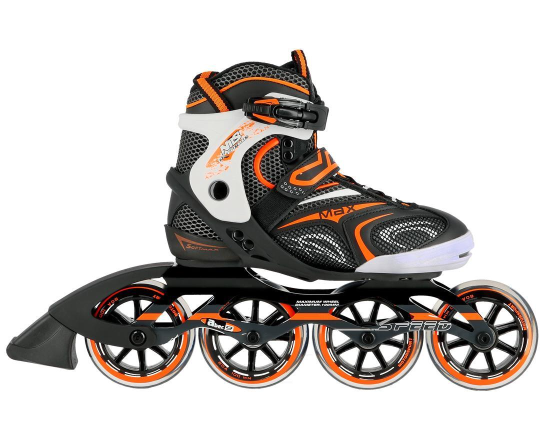 Роликовые коньки Nils Extreme NA1060S Size 40 Black/Orange