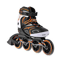 Роликовые коньки Nils Extreme NA1060S Size 40 Black/Orange, фото 3