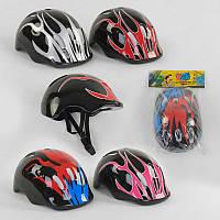 """Шлем защитный """"TK Sport"""", 4 цвета, в кульке /50/ (C40256)"""