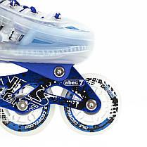 Роликовые коньки Nils Extreme NJ1812A Size 29-33 Blue, фото 2