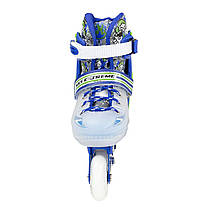 Роликовые коньки Nils Extreme NJ1812A Size 29-33 Blue, фото 3