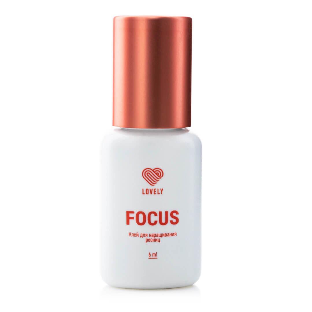"""Клей для наращивания ресниц """"FOCUS"""" от  Lovely, 6 мл"""