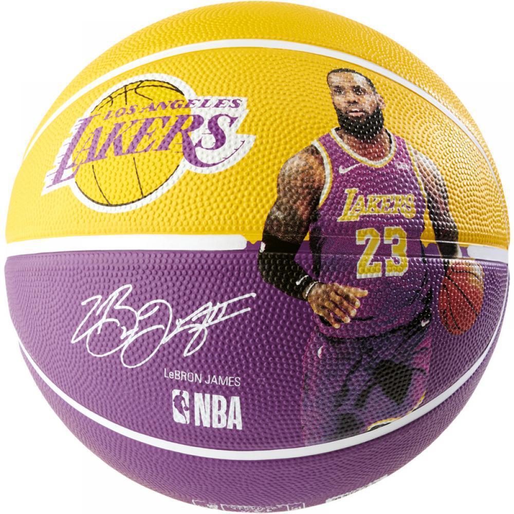 Мяч баскетбольный Spalding NBA Player Ball Lebron James размер 7