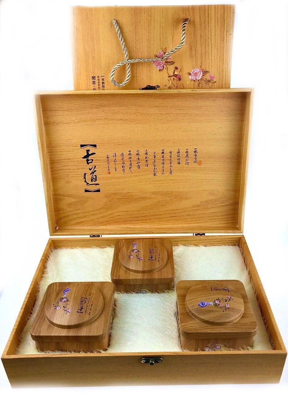 Подарочный  чайный набор три чая 300 грамм.