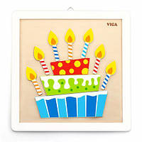 Набор для творчества Viga Toys Картина своими руками Торт (50684)