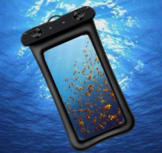 """Водонепроникний змінний чохол """"Oxo"""" аквабокс для телефону 4.0-5.5 дюйма універсальний прозорий"""