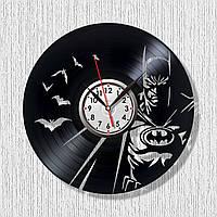 Бетмен часы Часы супергерой Batman часы настенные Марвел герой Черные часы Часы в детскую комнату 300 мм