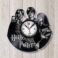 Гарри Поттер Виниловые часы настенные Гарри Поттер часы Часы Гарри детские Часы для детей Кварцевый механизм
