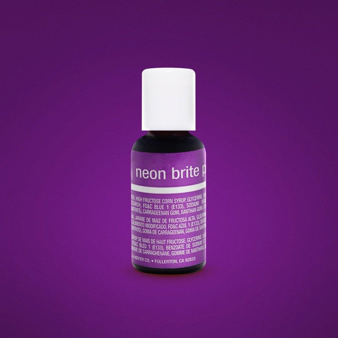 Гелевый краситель Chefmaster Электрический пурпурный (Neon Brite Purple) 21 грамм