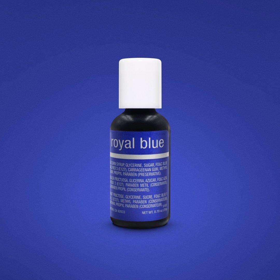 Гелевый краситель Chefmaster Королевский синий ( Royal Blue) 21 грамм