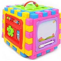 Детский развивающий кубик 6в1, фото 1