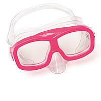 Маска для пірнання Bestway 22055, розмір S, (3+), обхват голови 50 см, рожевий
