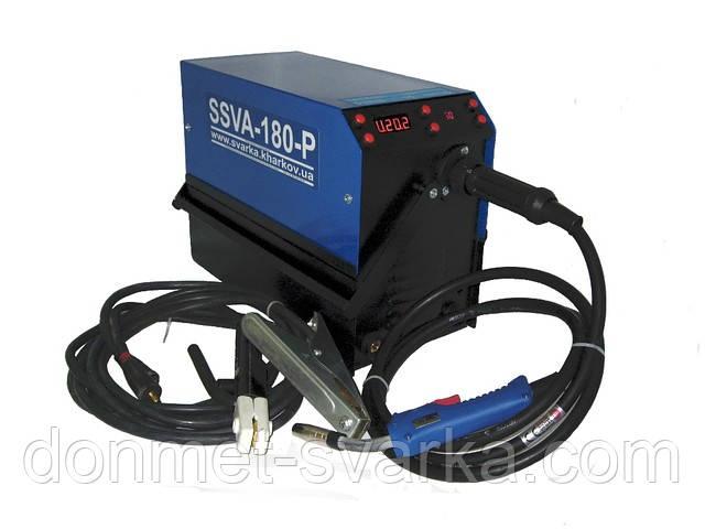 Инверторный сварочный аппарат полуавтомат SSVA-180-Р