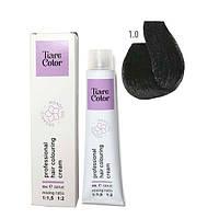 Крем-фарба для волосся Tiare Color 60 мл 1.0 Black, фото 1