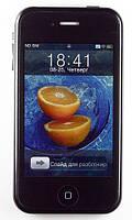 Китайский iPhone 5G A5, Wifi, 2 sim, Tv, Fm, Java, Jack 3,5мм. Качественный корпус!, фото 1