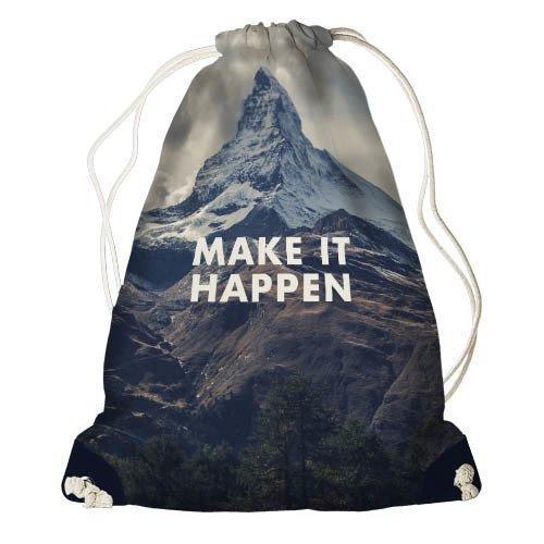 Рюкзак-мешок Make it happen 33*45 см (RM_ORG004_TSI)