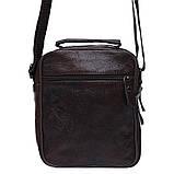 Мужская кожаная сумка Keizer K103b-brown, фото 3