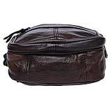Мужская кожаная сумка Keizer K103b-brown, фото 4