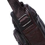 Мужская кожаная сумка Keizer K103b-brown, фото 5