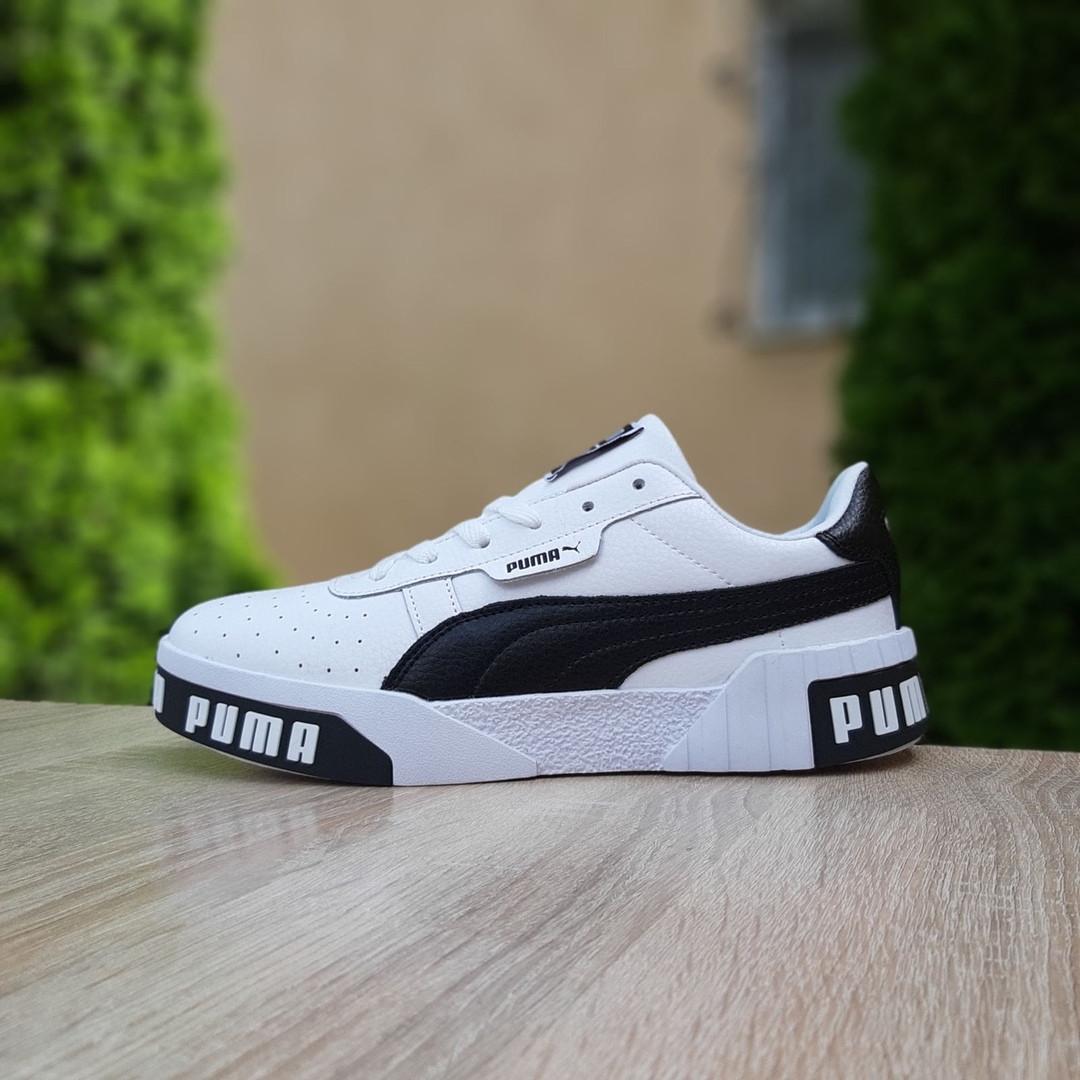 "Кроссовки Puma Cali ""Белые"""