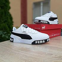 """Кроссовки Puma Cali """"Белые"""", фото 3"""