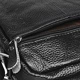 Мужская кожаная сумка Keizer K13657-black, фото 5