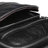 Мужская кожаная сумка Keizer K13657-black, фото 6