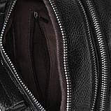 Мужская кожаная сумка Keizer K13657-black, фото 8