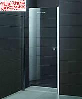 Душевые двери левосторонние PARADISO 100х185 P2151S-L (ice engraving) AK