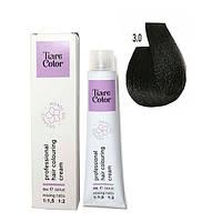 Крем-фарба для волосся Tiare Color 60 мл 3.0 Dark brown