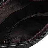 Мужской кожаный мессенджер Borsa Leather m1t823-black, фото 5